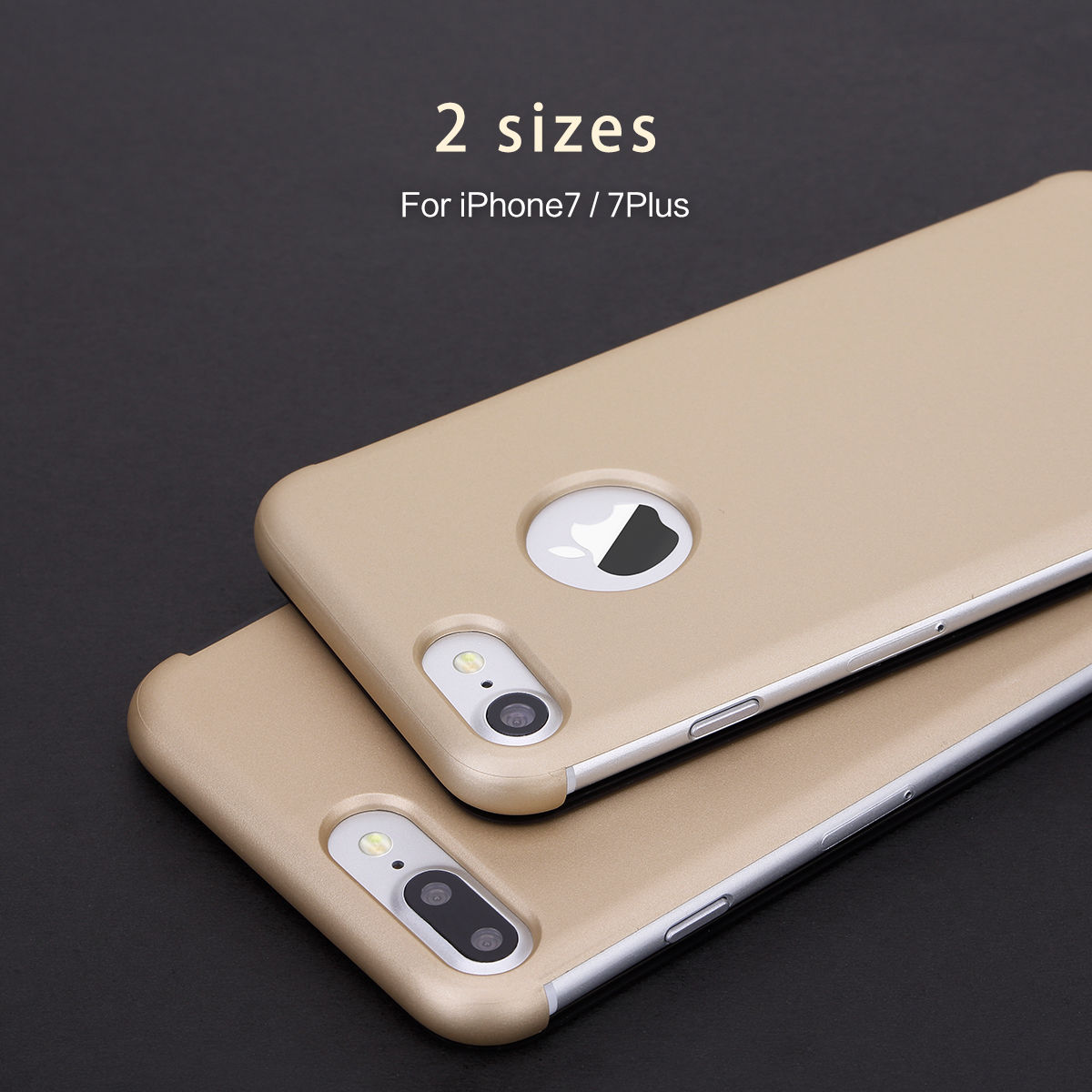 low priced a43ba ad9c9 US $23.79 |Luxury Smart Phone Case For iphone 7 7Plus Original Invisible  Full View Window Touchable Flip Cover Coque For iPhone 7 Plus Case-in Flip  ...