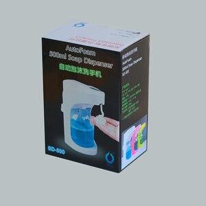 Image 5 - 500ml Automatic Soap Dispenser Touchless Sanitizer Dispenser Built in Infrared Smart Sensor for Kitchen Bathroom soap dispenser