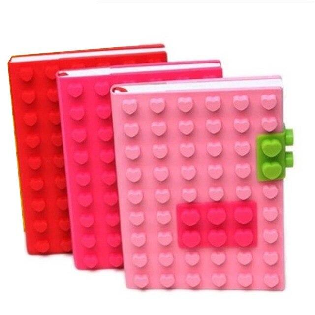 Silicona Notebook papelería creativa estilo Color caramelo 3D silicona Dairy libro organizador Personal escuela suministros de oficina
