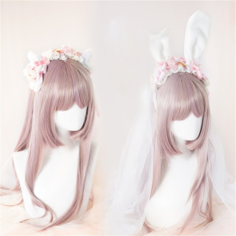 Sweet Lolita Cookies & Dessert   Headwear   Cute Bow Bunny Ears Cat Ears Cosplay Japanese style Rabbit headband Party Accessory