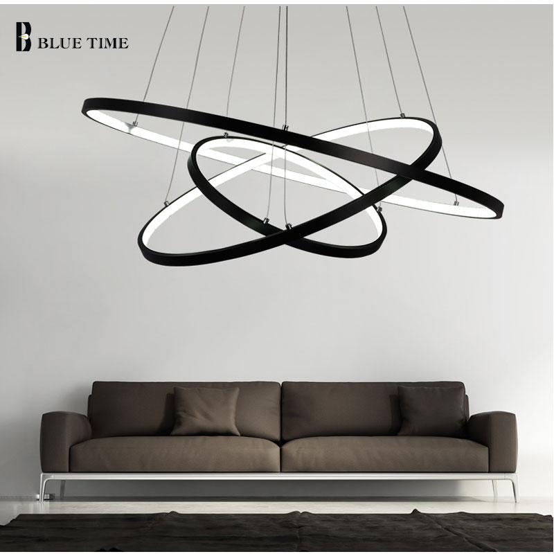 lustre iluminação led para sala de estar