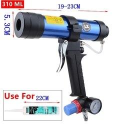 310 ml Pneumatica Pistola di Calafataggio Vetro Colla Gomma Aria Pistole Strumento strumenti di Colla di Vetro Pistola per silicone