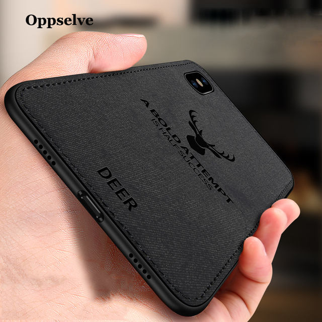 coque iphone xr cerf