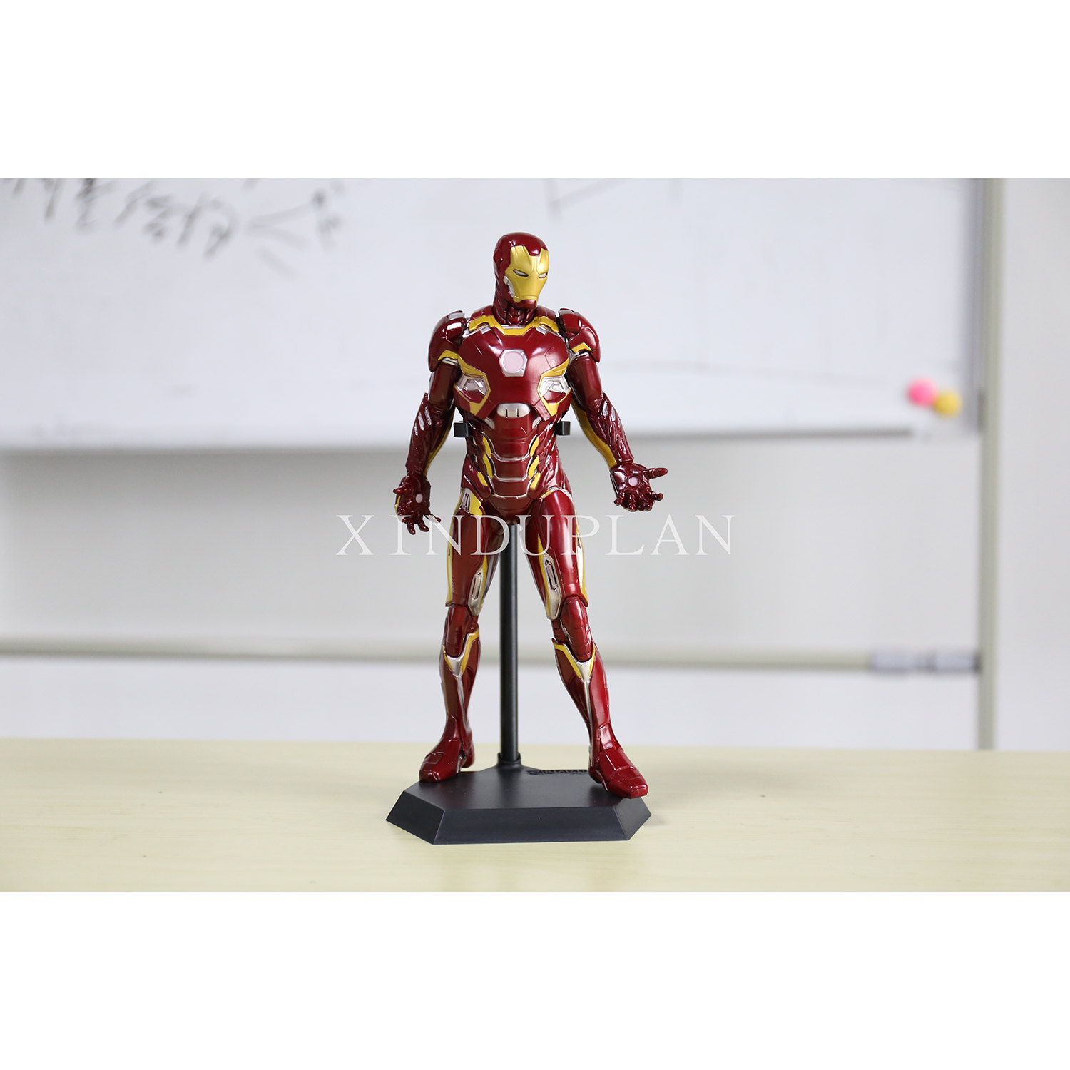 XINDUPLAN Marvel Shield iron Man Avengers Age of Ultron MK45 Light Movable Action Figure Toys 30cm Collection Model 0777 gonlei spiderman marvel avengers 2 age of ultron hulk black widow vision ultron captain america action figures model toys