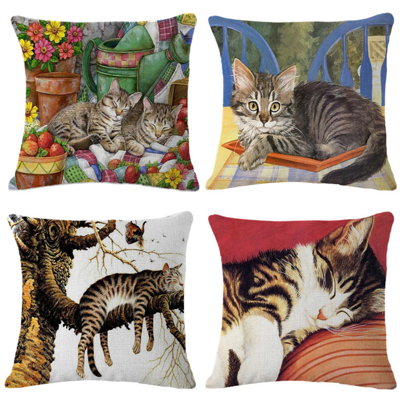 Throw Pillow On Chair : 2016 Cushion Without Core Sofa Embroidery Decorative Throw Pillows Cotton Chair Throw Pillow ...