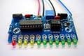 LM3915 11 LED Indicador de Nível de Áudio DIY Medidor de Preamp Amplificador de Potência Indicam