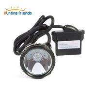 10pcs Lot Lithium Battery Safety Miner Lamp KL6M Plus Rechargeable Headlamp 1 6 LED Mining Cap
