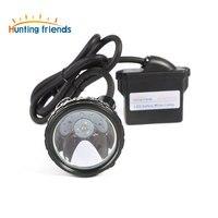 10 יח'\חבילה ליתיום סוללה כורה מנורת KL6M. בתוספת נטענת כריית פנס 1 + 6 LED כרייה שווי מנורת פיצוץ Rroof פנס