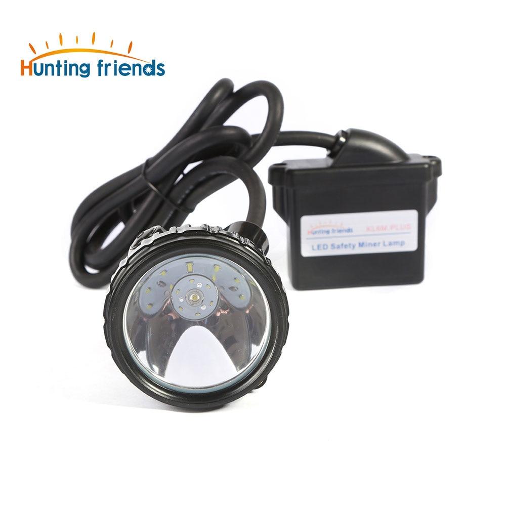 10pcs/lot Lithium Battery Miner Lamp KL6M.Plus Rechargeable Mining Headlamp 1+6 LED Mining Cap Lamp Explosion Rroof Headlight 10pcs lot new iws5a high quality multi purpose headlamp high brightness for mining hunting camping lamp usb charger 6 2ah 3 7v