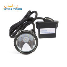 10pcs/lot  Lithium Battery Miner Lamp KL6M.Plus Rechargeable Mining Headlamp 1+6 LED Mining Cap Lamp Explosion Rroof Headlight