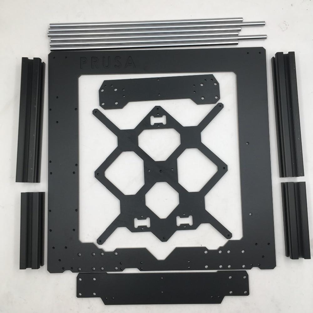Original Prusa i3 MK3 3d printer parts aluminum frame, aluminum profile and smooth rods sst 50 smooth aluminum reflector 5 1cm diameter