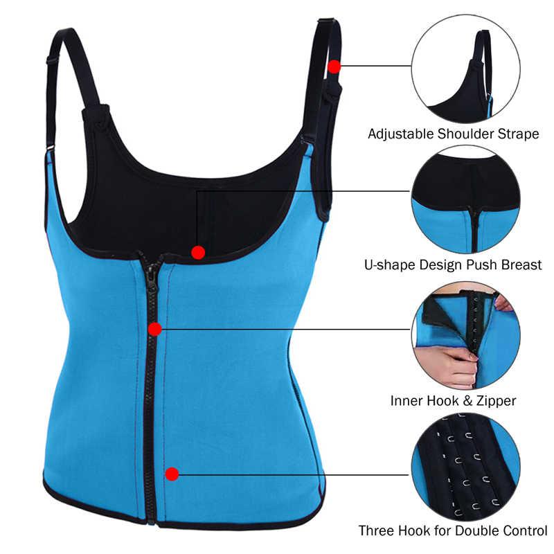 LOOZYKIT 3 слоя патч Sweatband для женщин Спортивная поддержка пояс для похудения Талия Высокое качество Горячая тренировка корсет с подтяжками жилет