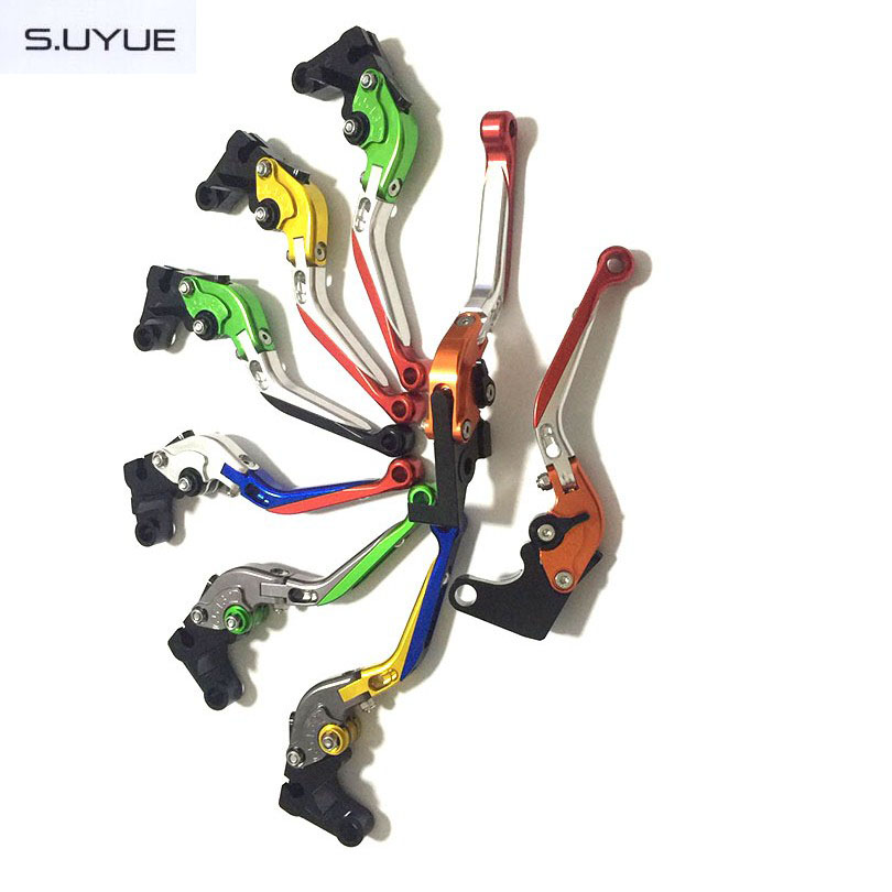 ФОТО S.UYUE Motorcycle Foldable Extendable Levers CNC Adjustable Brake Clutch Levers For Honda CBF1000/A CB1100/GIO special