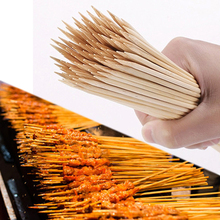55/90 шт Безопасный бамбуковый не легко сломать палку для барбекю Жареная колбаса кабобов для барбекю на открытом воздухе необходимое качество изготовления