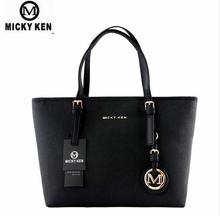 MICKY KEN Brand new 2018 women handbags big pu leather high quality letter female bag designer bolsos mujer sac a main totes