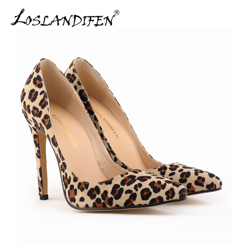 Popular Leopard Print High Heels-Buy Cheap Leopard Print High ...