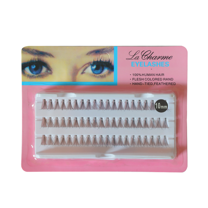 aeeaab42253 60 pcs/Set 8/10/12mm Natural Fake False Eyelash Long Cluster Extension  Makeup