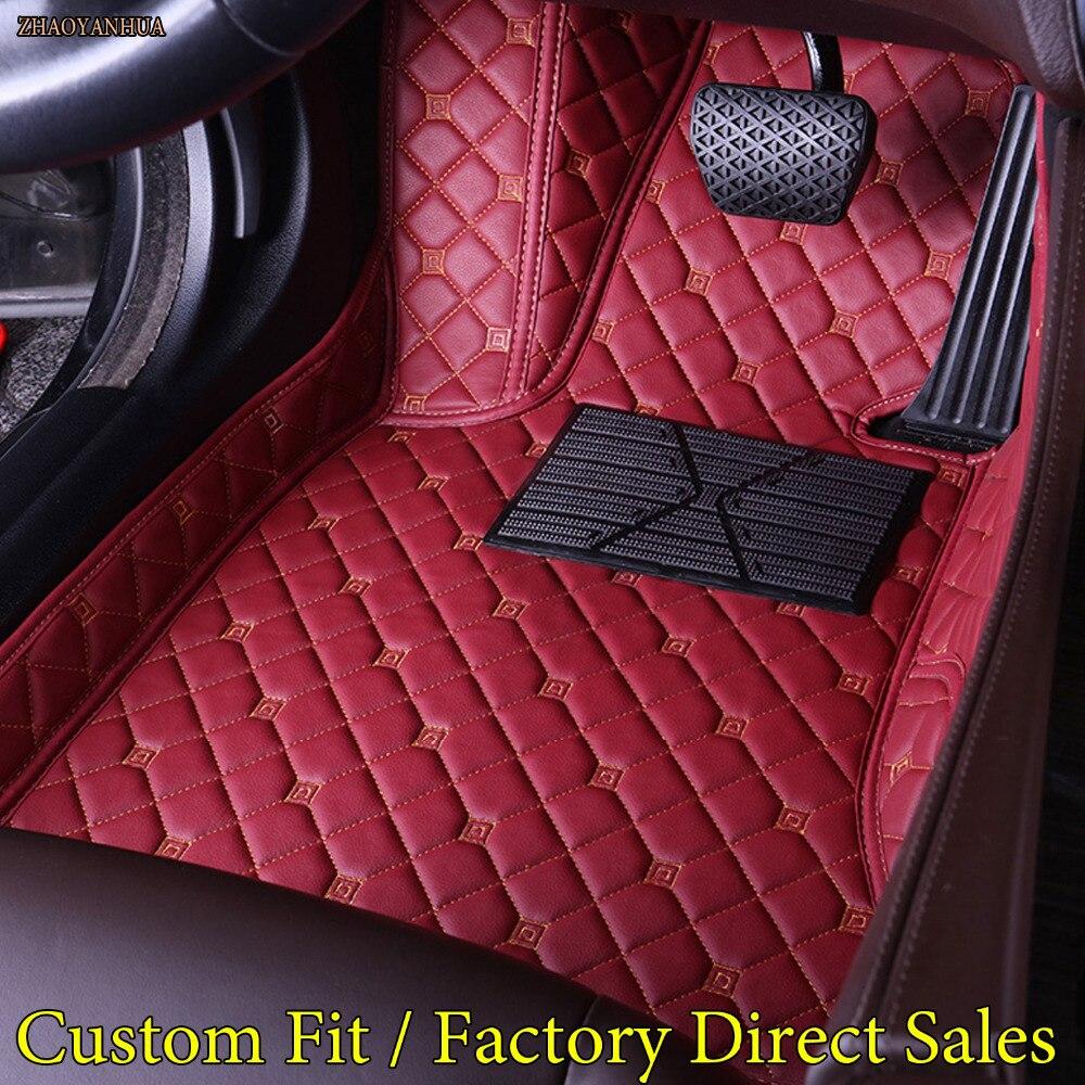 ZHAOYANHUA Car floor mats for Audi TT MK2 MK3 5D heavy duty car-styling rugs carpet floor liners(2005-present)ZHAOYANHUA Car floor mats for Audi TT MK2 MK3 5D heavy duty car-styling rugs carpet floor liners(2005-present)