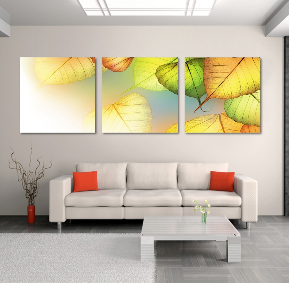 3 Piece Wall Art picture printed paintings for Christmas gifts fall ...