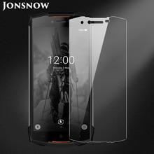 JONSNOW Gehard Glas Voor Doogee S55 Screen Protector 9H explosieveilige Beschermfolie voor Doogee S55 Lite 5.5 inch