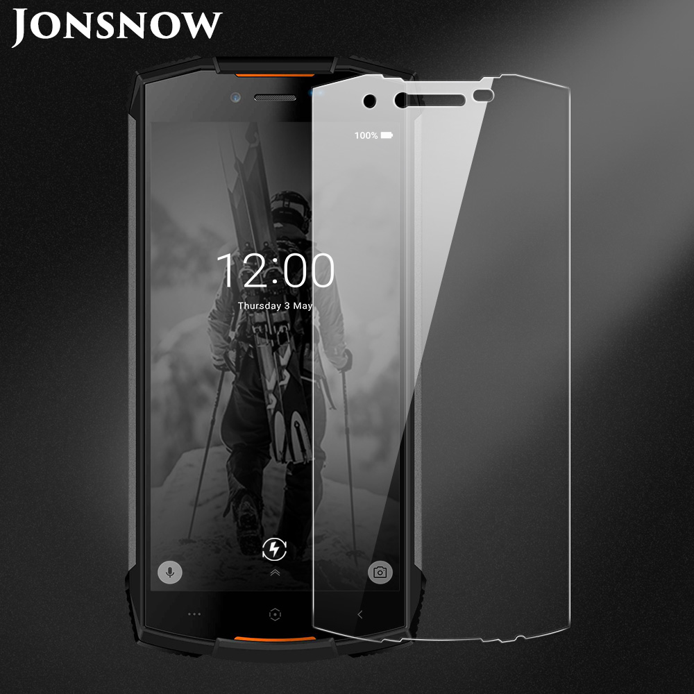 JONSNOW Tempered Glass For Doogee S55 Screen Protector 9H Explosion-proof Protective Film  For Doogee S55 Lite 5.5 Inch