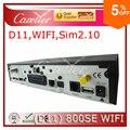 Jogador DM800hd se dm 800hd se sim 2.10 Rev versão D11 receptor de satélite Sunray dm800se WIFI dm800 se com fio 300 Mbps
