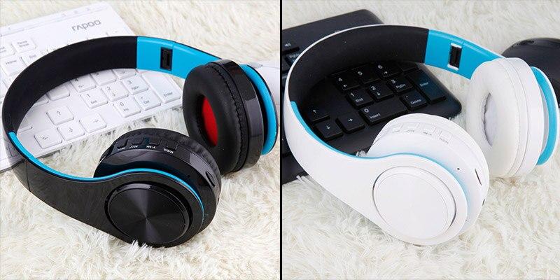 Casque sans fil Bluetooth B7 casque pliable 11