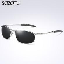 Fashion Aviation Polarized Sunglasses Men Driver Pilot Sun Glasses Brand Designer For Male Driving Goggles Oculos de sol YQ354