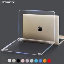 Кристальный Жесткий Чехол для ноутбука MacBook Pro 16 A2141 Touch ID A1932 чехол для Macbook Air 13 A1466 A1369 Pro retina 12 13 15