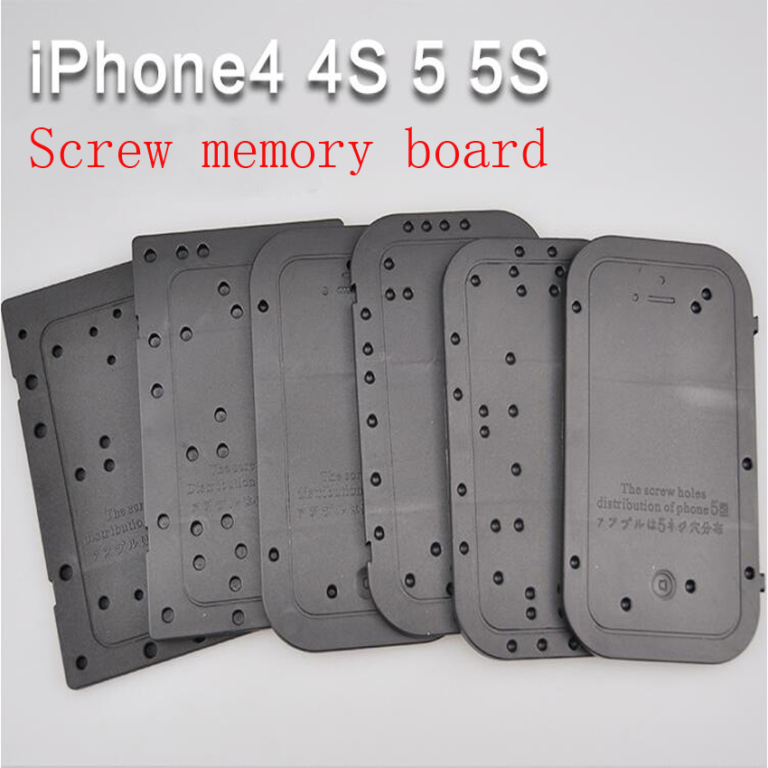 5PC/set iphone4 Screw memory board Position board Disassemble maintenance tool distribution positioning plate for iPhone