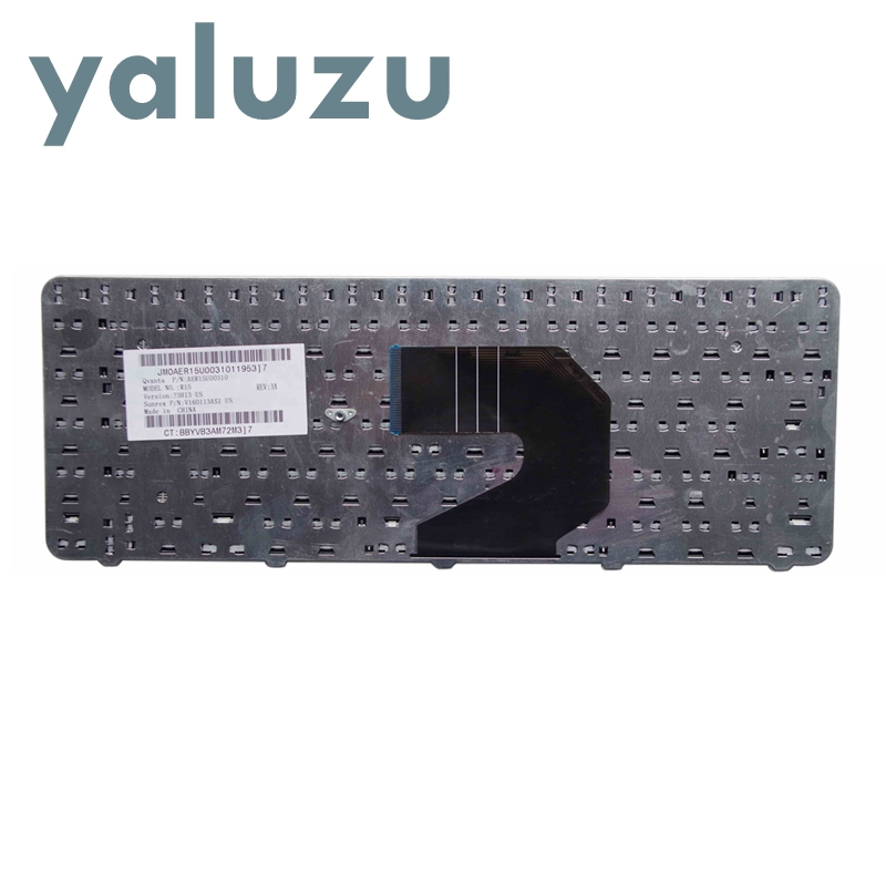 Image 2 - YALUZU New For HP 250 G1 255 G1 430 431 435 436 450 455 630 631 635 636 650 655 Compaq 435 436 US Black Keyboard-in Replacement Keyboards from Computer & Office