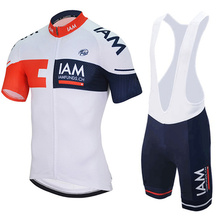 IAM Cycling Jersey 2016 Ropa Ciclismo Hombre Team Cycling Clothing Quick-dry Short Sleeve Bike Mtb Maillot Ciclismo