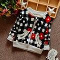 0-12 M bebê 2017 primavera outono menina roupas grossas crianças jaqueta outerwear para o bebê meninas roupa roupas esporte marca jaqueta floral casaco