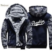 Brand New Design Hoodie Men Casual Sweatshirt Winter Thick Fleece Warm Zip up Camouflage Jacket Fashion Coat Fitness Streetwear цена 2017