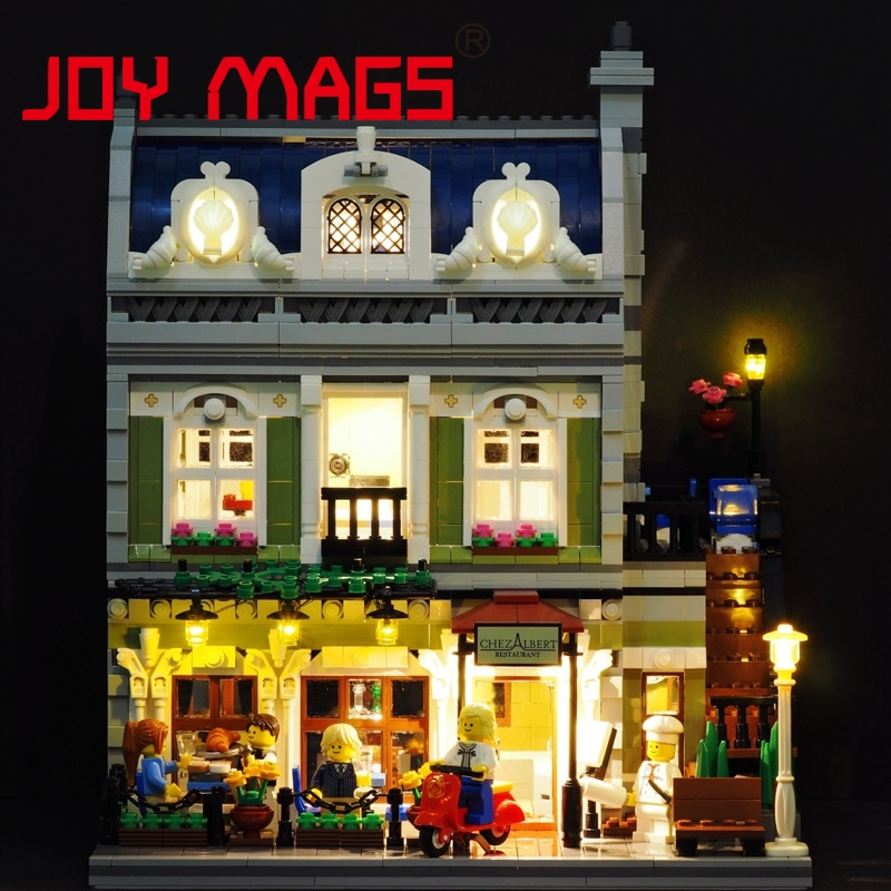 JOY MAGS Only Led Light Kit For Creator 10243 Parisian Restaurant Lighting Set Compatible With Lego