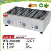 Vendita calda di trasporto libero di commercio macchina griglia takoyaki takoyaki pan pesce palla grill elettrico