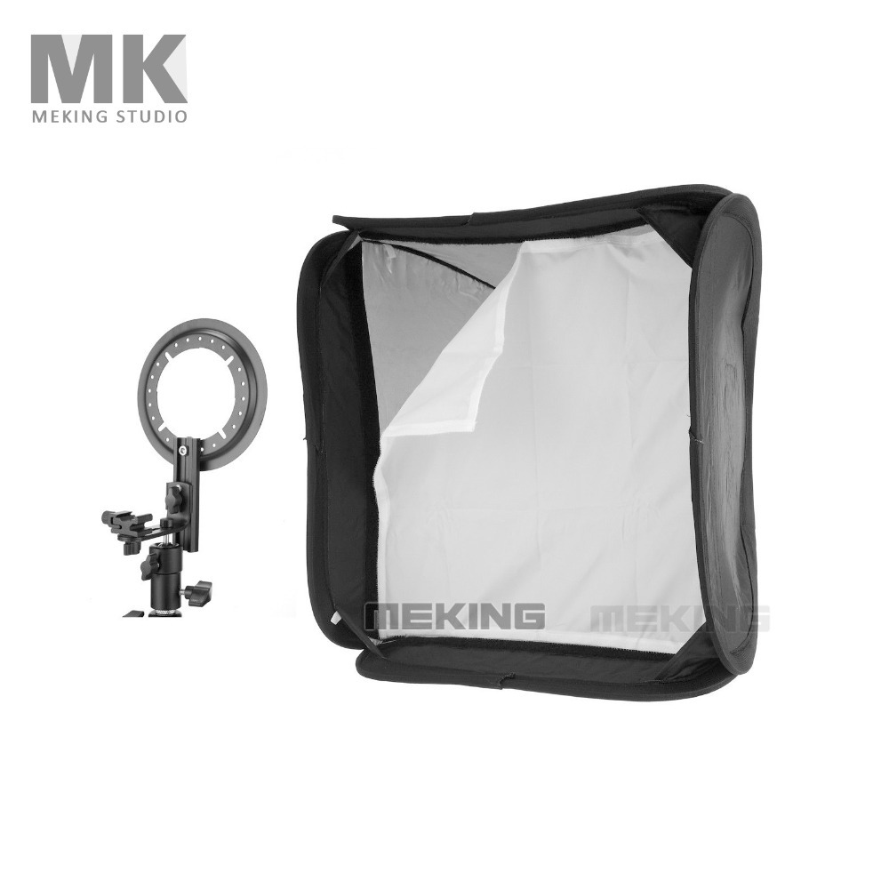 ФОТО Meking Softbox For Speedlite SpeedLight Flash light 80cm / 32