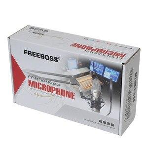 Image 5 - FREEBOSS E300 Cáp Âm Thanh Micro Có Dây Chuyên Nghiệp Micro Condenser Thu Âm Điệp Khúc Phát Sóng Micro
