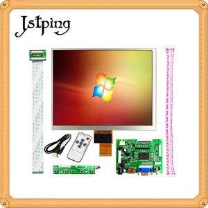 Jstping 8 дюймов 1024*768 планшет IPS ЖК-дисплей драйвер платы HDMI/VGA/AV контроль монитор для Raspberry pi