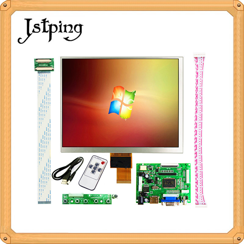 Jstping 8 inch IPS 1024*768 tablet HD screen LCD display HJ080IA-01E HE080IA-01D Driver Board HDMI Control Monitor For RaspberryJstping 8 inch IPS 1024*768 tablet HD screen LCD display HJ080IA-01E HE080IA-01D Driver Board HDMI Control Monitor For Raspberry