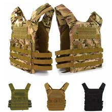 Tactical Equipment Plate Carrier Military Molle Body Armor JPC Outdoor Airsoft Hunting Shooting Safety Protective Vest