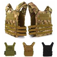 Tactical Equipment Plate Carrier Military Molle Body Armor JPC Outdoor Airsoft Hunting Shooting Safety Protective Tactical Vest