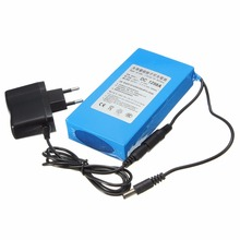 DC 1298A 12V Lithium Battery High Capacity 9800mAh Battery Pack Street Light Instrument LED Light Standby Power