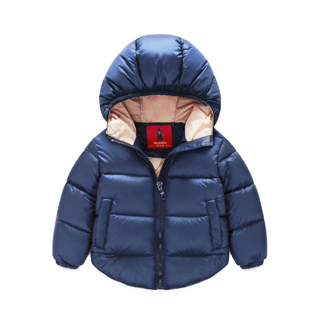 1-5 years Winter Newborn Baby Snowsuit Cotton Girls Coats And Jackets Baby Warm Overall Kids Boy Jackets Outerwear Clothes