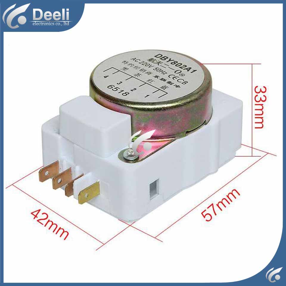 1pcs for new for Refrigerator defrost timer DBY802A1 Defrosting timer defrost timer tmdex09um1