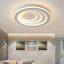 Okrągły Plafondlamp nowoczesne oświetlenie sufitowe Led do oświetlenie salonu sypialnia kuchnia biały kolor lampy sufitowe LED lampy sufitowe Led oprawy oświetleniowe tanie tanio BANDENGGONG CN (pochodzenie) 20 Metrów 10-15square Foyer Łóżko pokój Badania KİTCHEN Jadalnia ROHS 90-260 v Klin