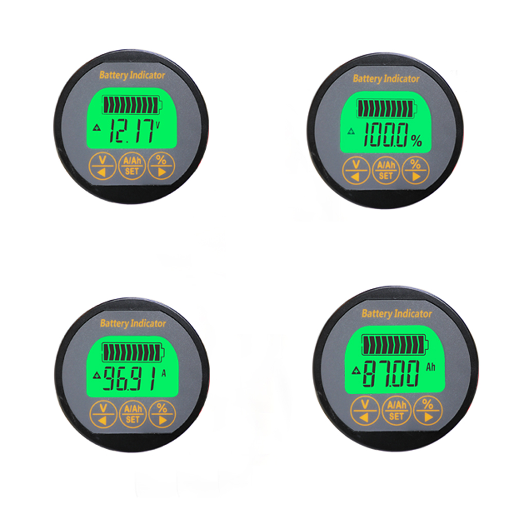 Battery Monitor detector 80V 50A Capacity Tester lithium lead-acid 12V 24V car