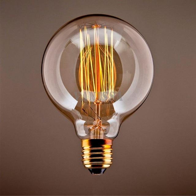Buy Incandescent Bulb E27 40w Ac 110v T45 Tungsten: Retro Incandescent Light Bulbs