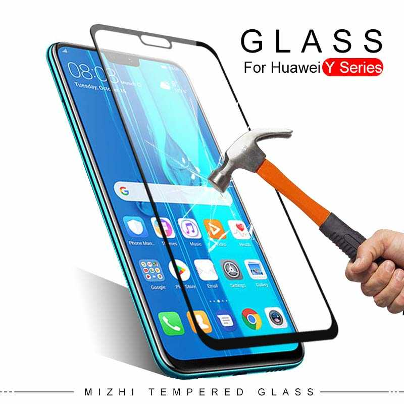 screen cover for huawei y9 2019 y5 y6 y7 prime 2019 protective glass on for huawei y 5 6 7 9 2018 y5ii y6 pro 2017 tempered film