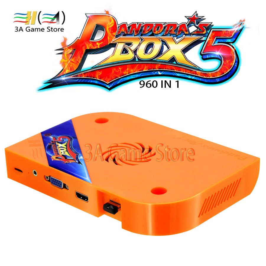 Pandora Box 5 960 in 1 Jamma Multi Game Board Video Console Pandora's Box 5 Arcade Version HDMI VGA USB For machine cabinet pandora box 5 960 in 1 arcade version jamma version orange multi game board hdmi vga output hd 720p jamma board arcade machine